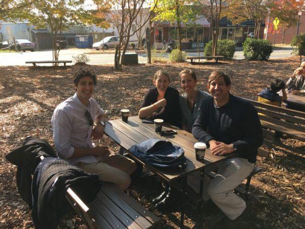 Lab Member Julia Browne and Researchers Collaberators