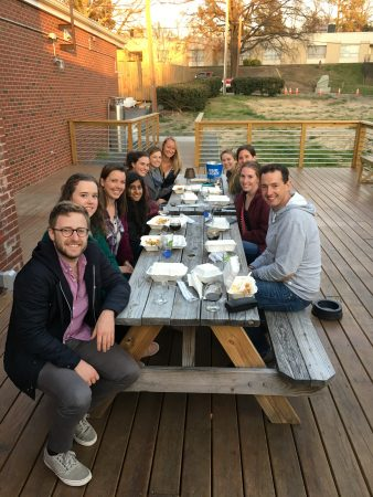 Penn Lab with visiting scholar Eoin Kallackey from The University of Melbourne