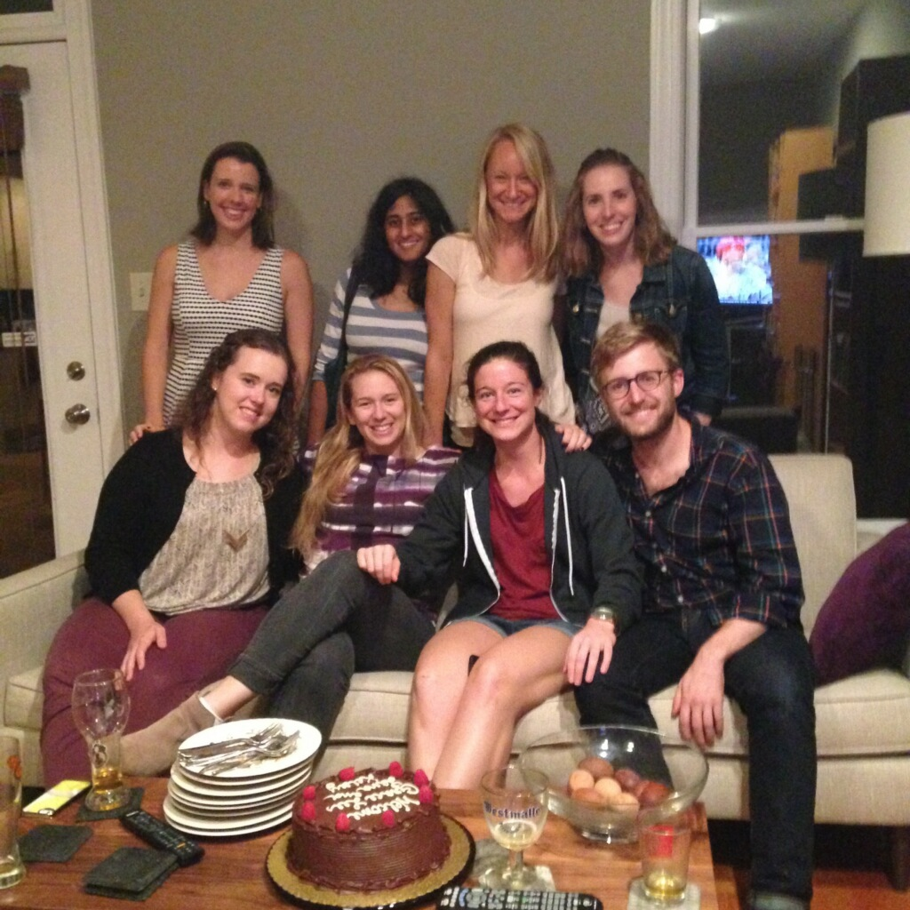 Penn Lab Welcome Party for New Graduate Students and Research Assistants (September 2015)