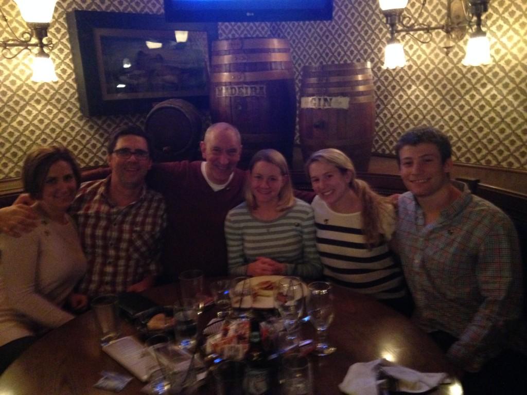 International Congress on Schizophrenia Research Dinner (pictured: Dave Roberts, David Penn, Amy Pinkham and Julia Browne)